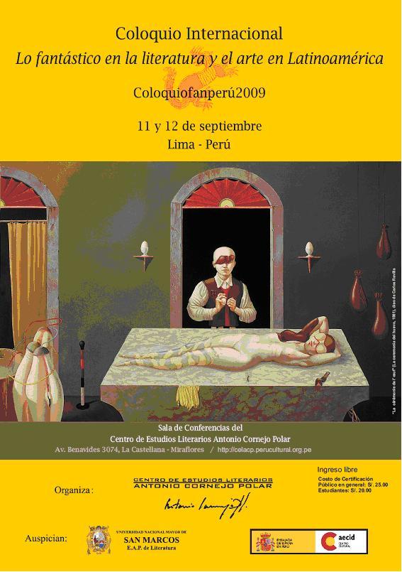 Lo fantástico en la literatura y el arte en Latinoamérica