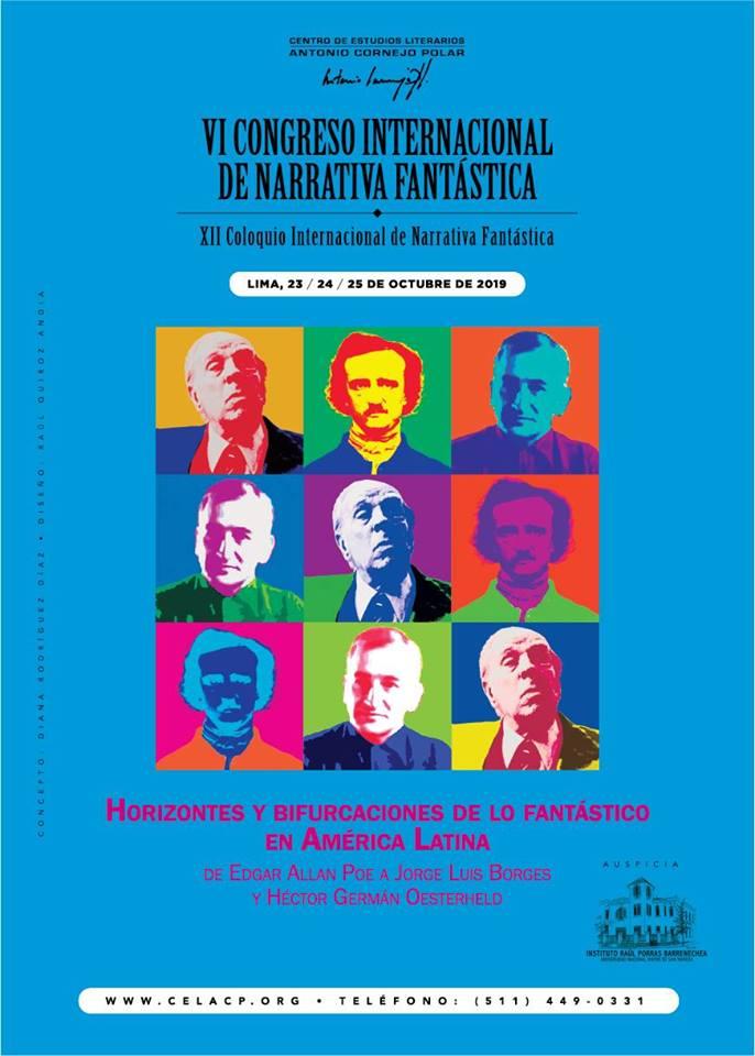 VI CONGRESO INTERNACIONAL DE NARRATIVA FANTÁSTICA (XII Coloquio Internacional de Narrativa Fantástica)