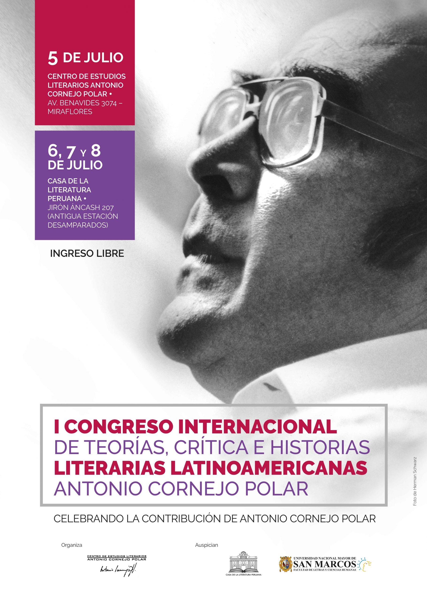 I Congreso Internacional de Teorías, Crítica e Historias Literarias Latinoamericanas
