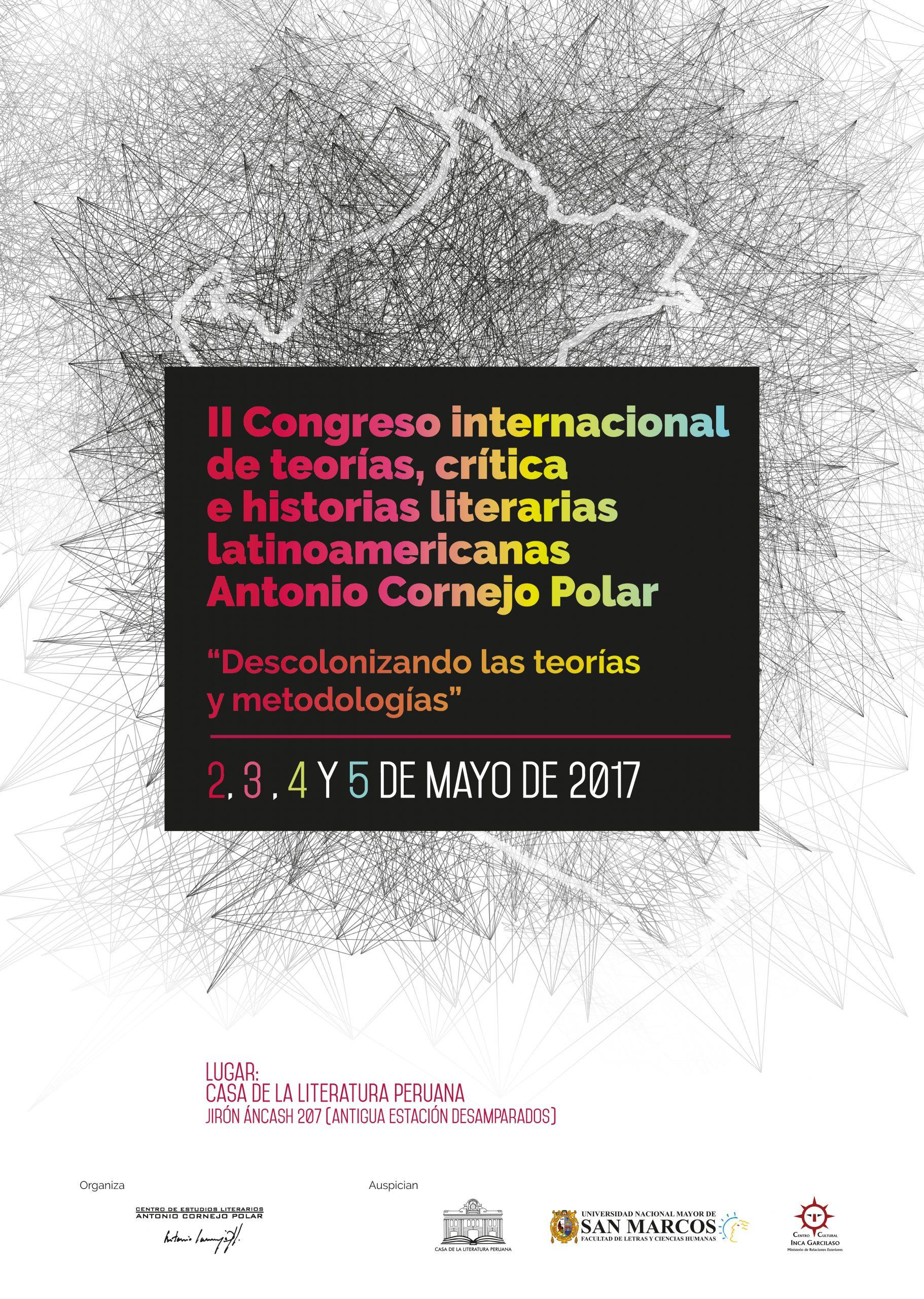 II Congreso Internacional de Teorías, Crítica e Historias Literarias Latinoamericanas