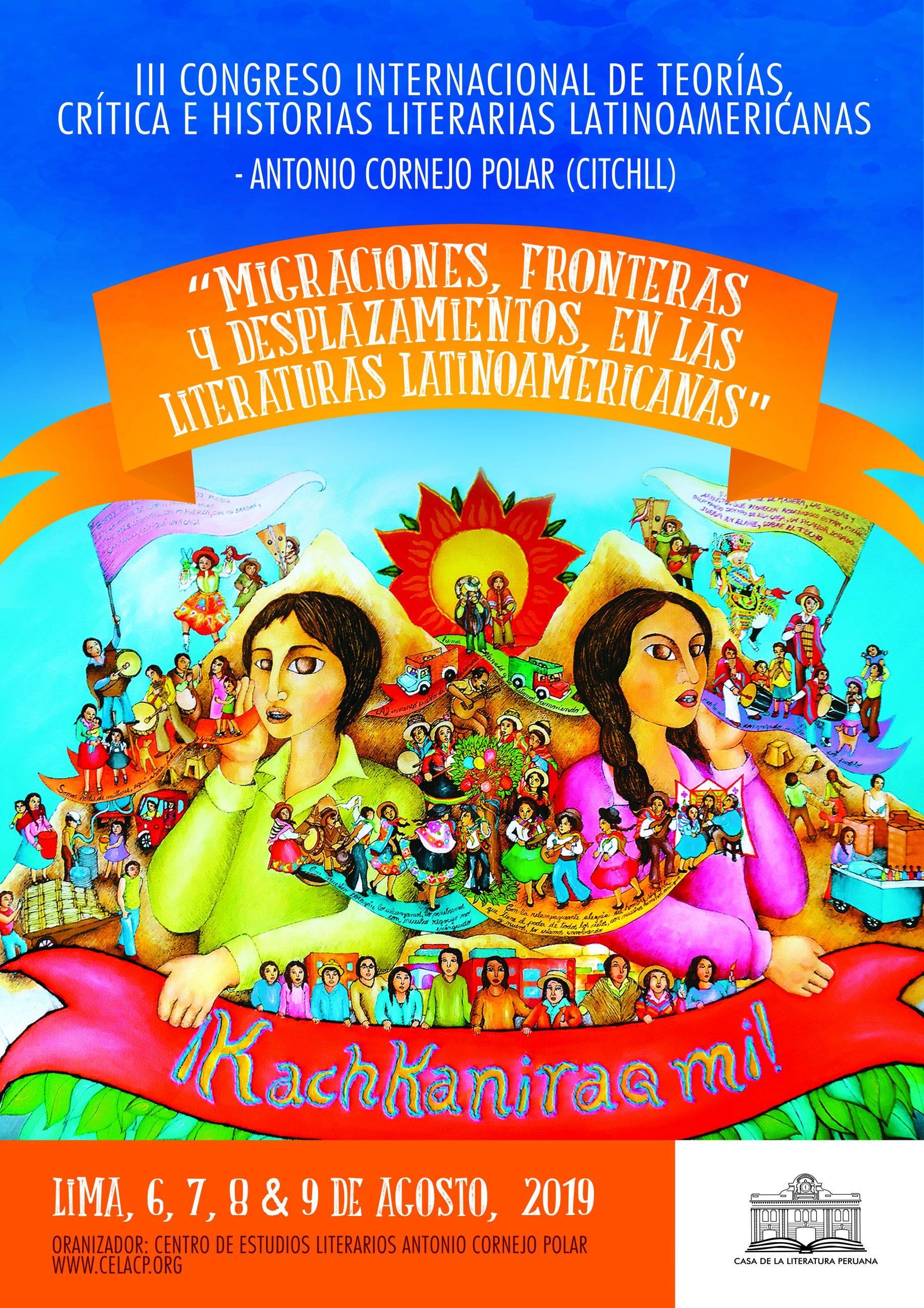III Congreso Internacional de Teorías, Crítica e Historias Literarias Latinoamericanas
