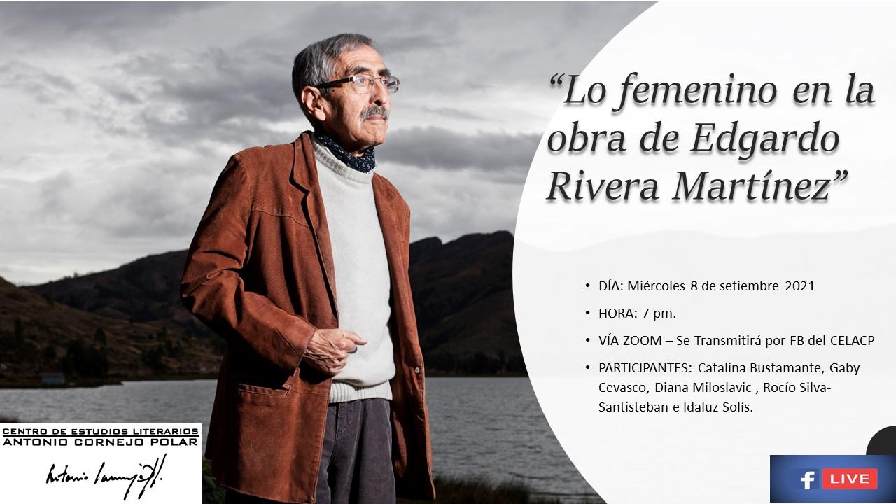"""""""Lo femenino en la obra de Edgardo Rivera Martínez"""""""