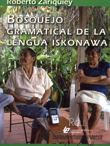 BOSQUEJO GRAMATICAL DE LA LENGUA ISKONAWA